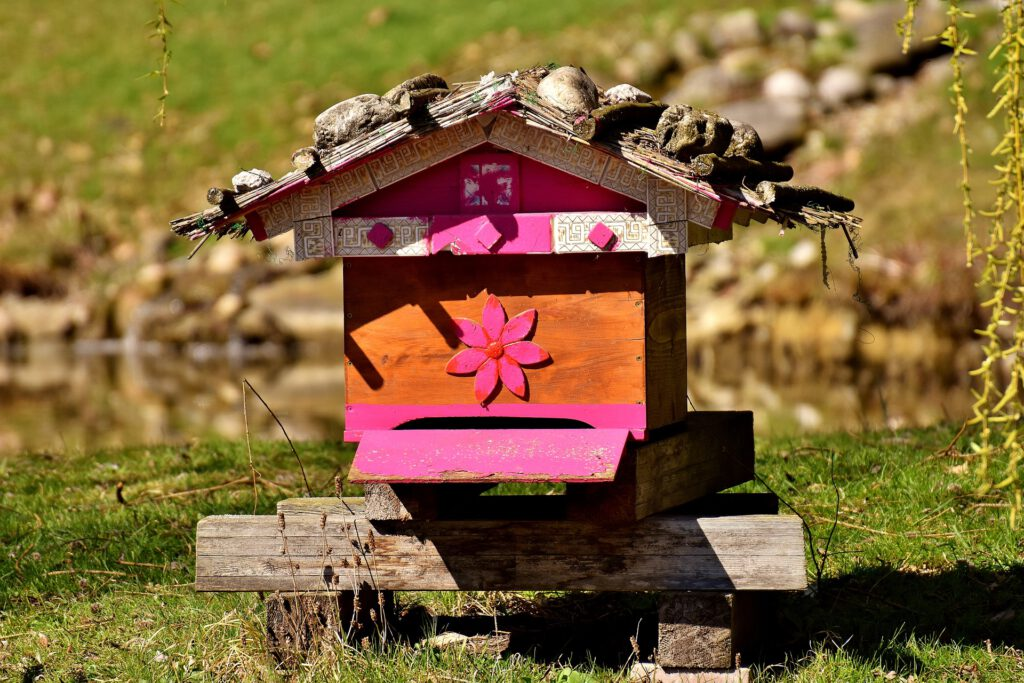 Alpenländische Bienenbeute